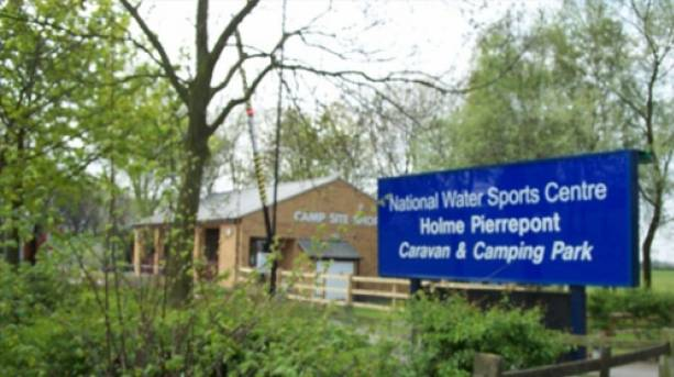 The National Water Sports Centre entrance