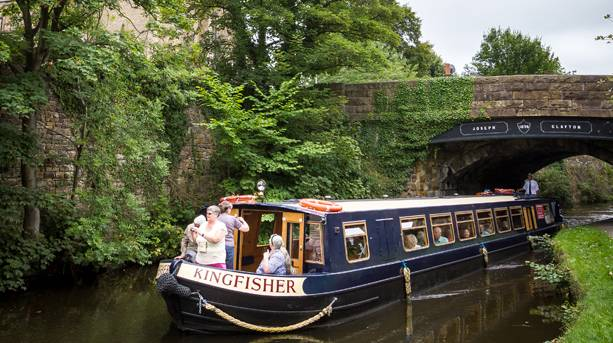 Canal cruise on Lancaster Canal