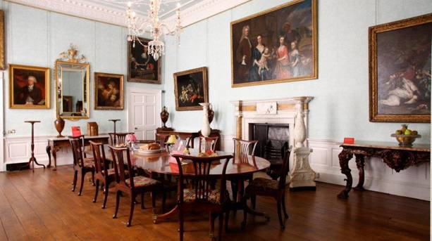 Cannon Hall dining room