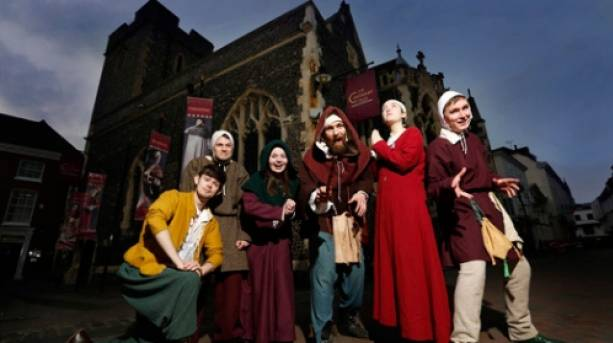 Tour guides, The Canterbury Tales