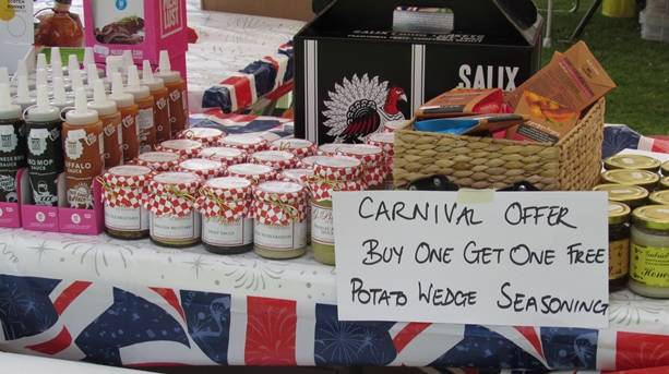 Carnival at Hertford Castle