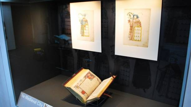 Cartae Antiquae on display at the Heritage Gallery in London