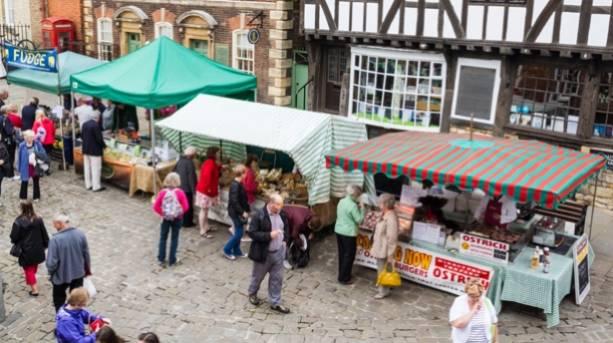 Castle Hill Farmers' Market, Lincoln