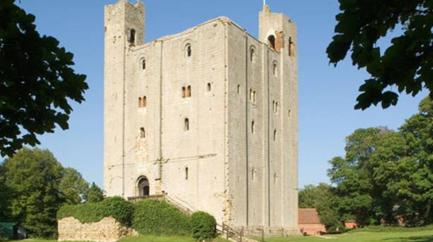 The 900 year old Norman Keep of Hedingham Castle.