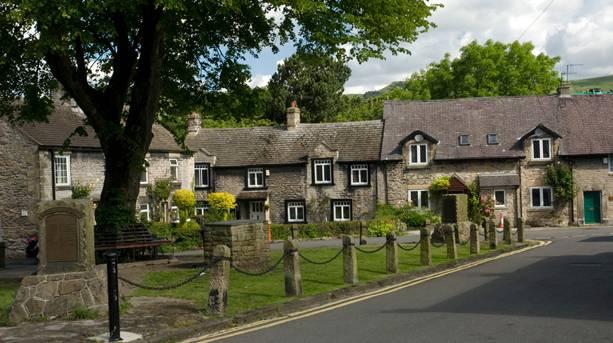 The beautiful village of Castleton