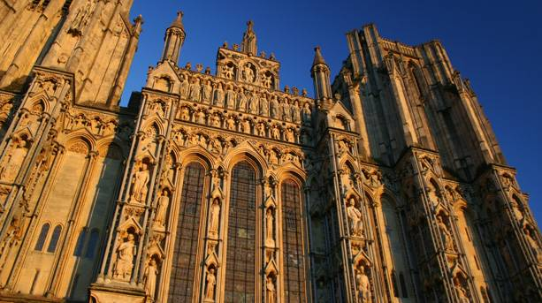 Wells Cathedral West Front Towers