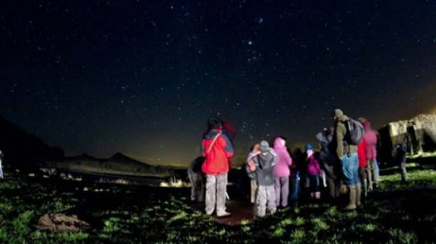 Stargazing on Hadrian's Wall