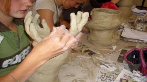 Ceramic Vasemaking at the Devon Guild of Craftsmen