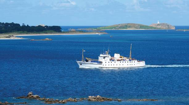 Scillonian ferry
