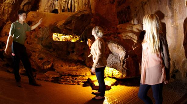 Caving at Cheddar Gorge