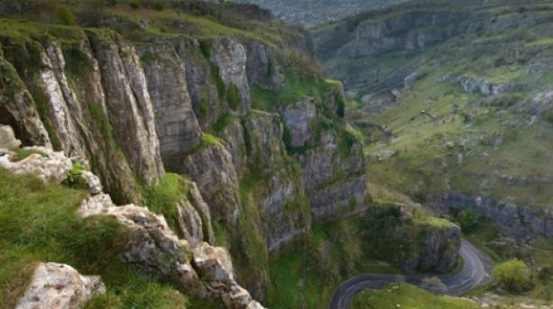 View of Cheddar Gorge