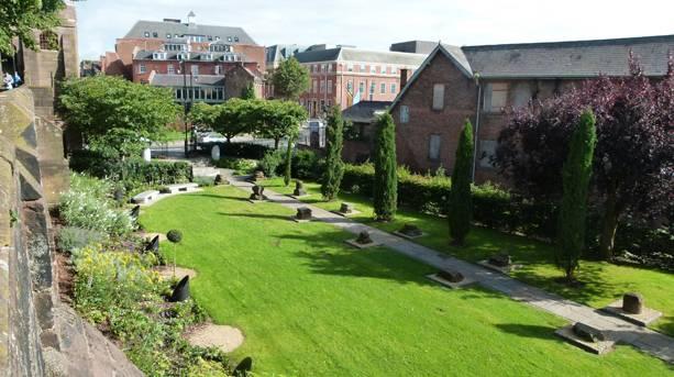 The Chester Roman Gardens