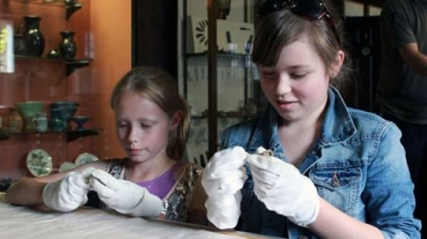 Children in Museum in Park Stroud