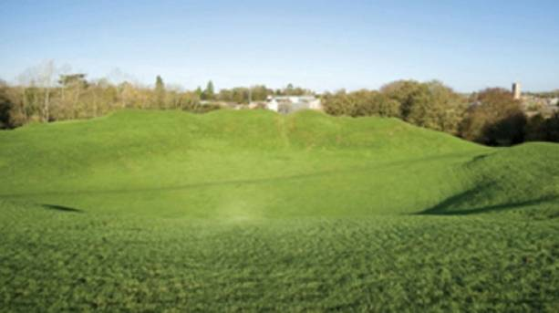 Cirencester Amphitheatre and grounds