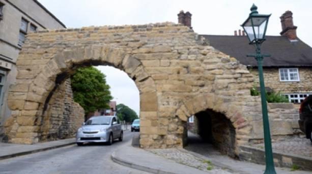Newport Arch in Lincoln