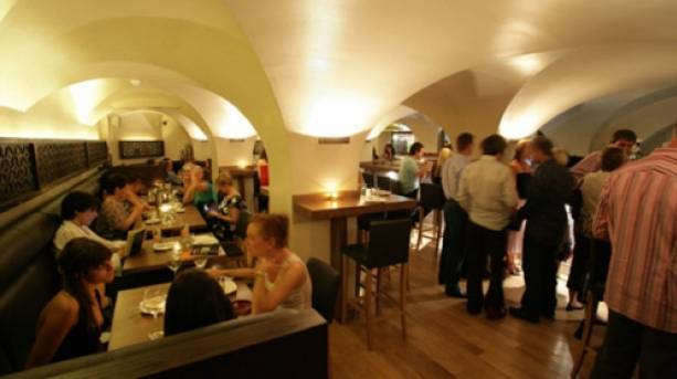 People dining at Iberico World Tapas