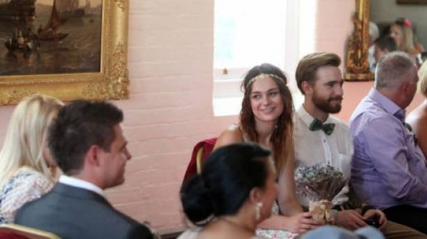 Wedding in the Esther Room