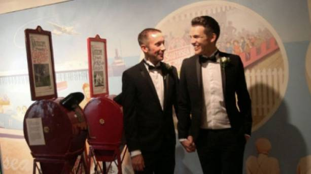Wedding in Portsmouth Museum