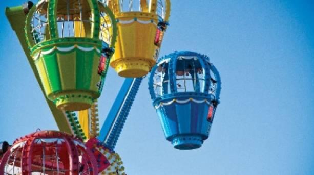 Rides at Clarence Pier Amusement Park