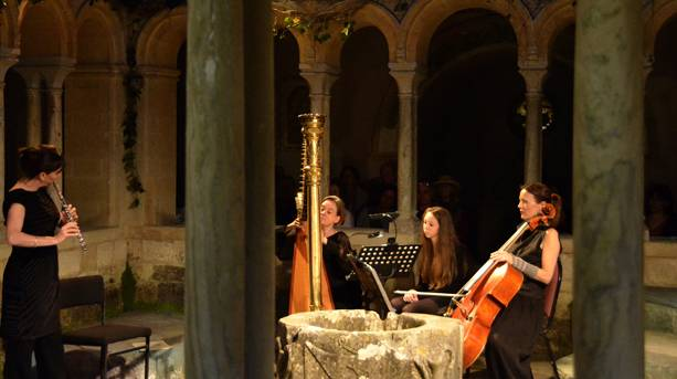 Classical concert at Iford Arts Festival