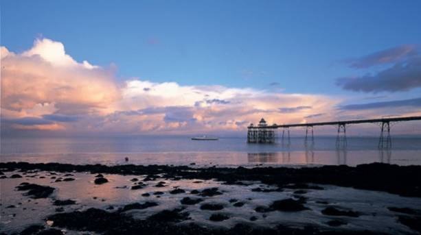 Boat trip from Clevedon Pier