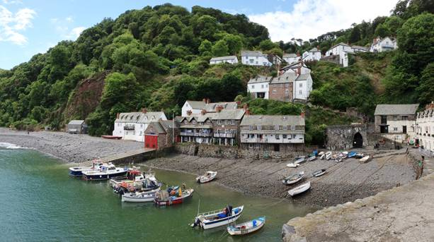 Clovelly Village Harbour