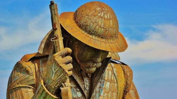 World War One sculpture, Durham Coast