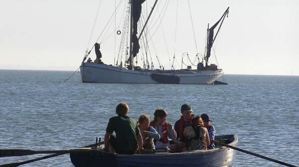 Sailing Barge Reminder