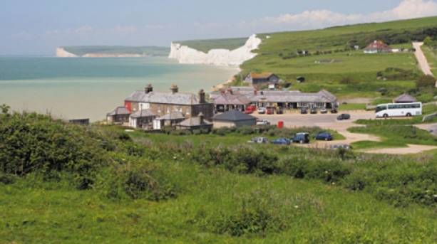 Birling Gap in the South Downs National Park
