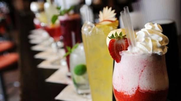 Cocktail tasting at Hotel Maiyango
