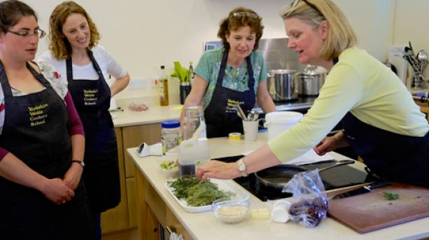 Cookery lessons at Wolds Cookery School