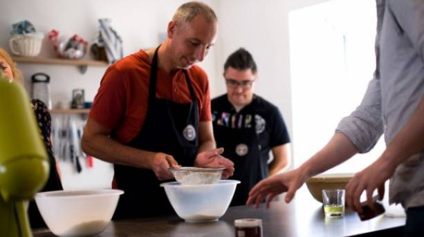 Cookery courses at the Cookshelf