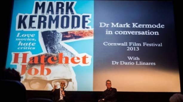 Mark Kermode at the Cornwall Film Festival 2013