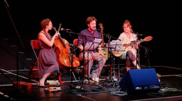 Performers at Penzance Literature Festival