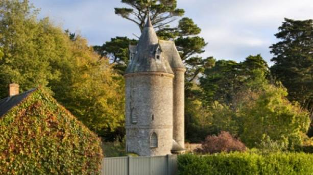The Water Tower at Trelissick Garden, Cornwall