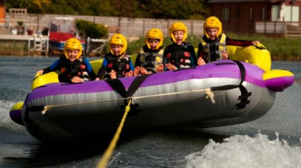 Rafting at the Cotswolds Water Park