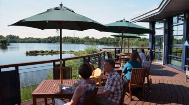 Boardwalk Café at Whisby Nature Park