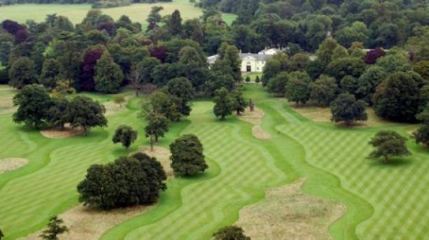 The golf course at Luton Hoo