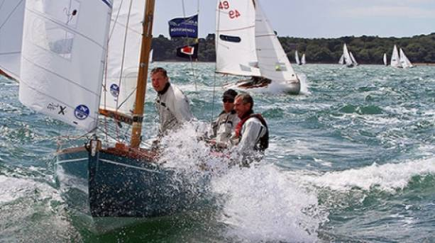Sailing at Cowes Week, Isle of Wight