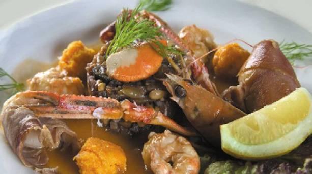 Crayfish from an Emsworth restaurant