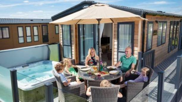 Luxury Lodge Accommodation at Crealy Meadows