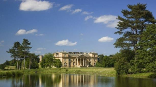 A view of Croome Court