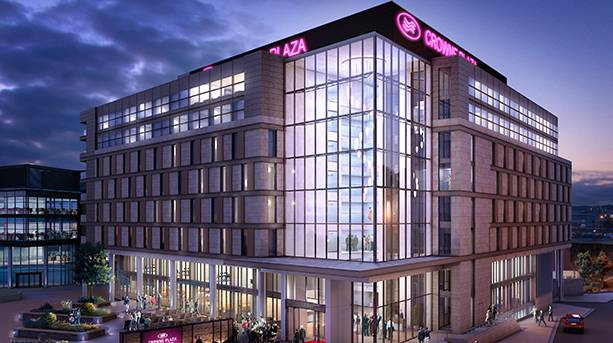 Crowne Plaza Newcastle Exterior