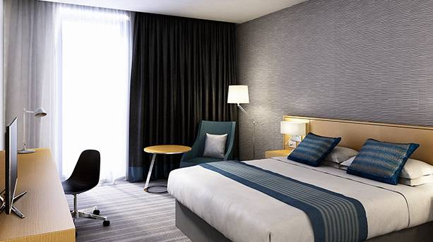 Crowne Plaza Newcastle Bedroom