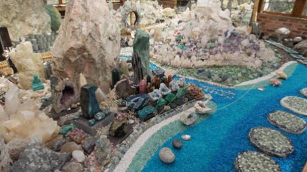 The Crystal Garden at Pureland Japanese Water Garden and Meditation Centre