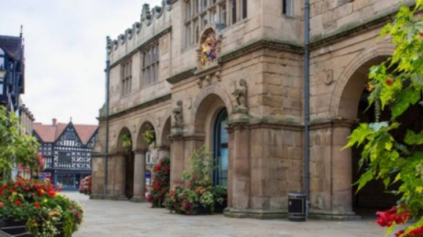 Shrewsbury's Old Market Hall Café Bar & Digital Media Centre