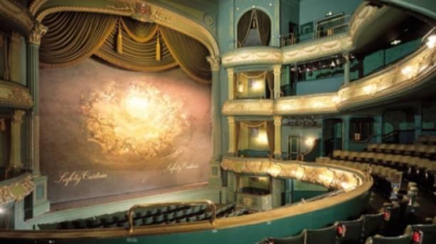 The auditorium at Nottingham's Theatre Royal