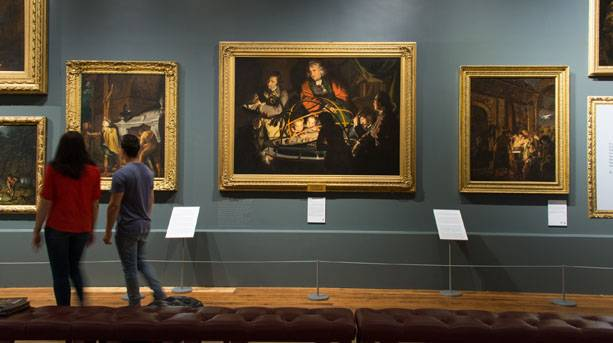 Joseph Wright Gallery at Derby Museum