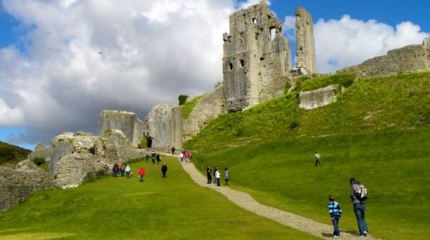 Corfe Castle - inspiration for Enid Blyton's Famous Five books.