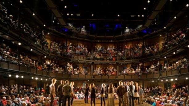 Royal Shakespeare Theatre auditorium